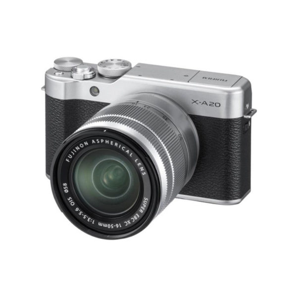 Fujifilm-X-A20-Silver-Kit-16-50mm-02-600×600